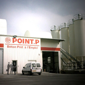 Centrale Béton Point P Cadaujac